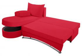 Eck-Couch mit Schlaffunktion