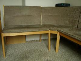 Eckbank und 3 Stühle