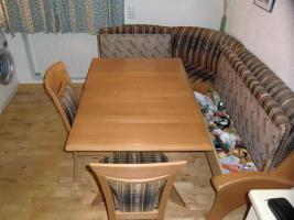 Eckbank Gruppe Wössner inkl. Tisch und 2 Stühlen