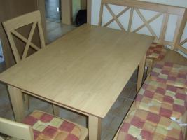 Foto 2 Eckbank Tisch Stühle