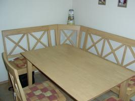 Foto 3 Eckbank Tisch Stühle