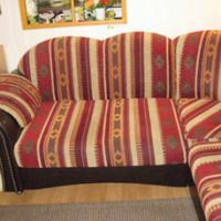 Foto 2 Eckcouch mit Schlaffunktion u. Sessel