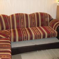Foto 3 Eckcouch mit Schlaffunktion u. Sessel