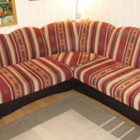 Foto 4 Eckcouch mit Schlaffunktion u. Sessel