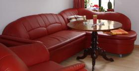 Eckcouch mit Sessel