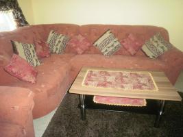 Foto 2 Eckcouch mit schlaffunktion u. Bettkasten ( inkl. Sessel)