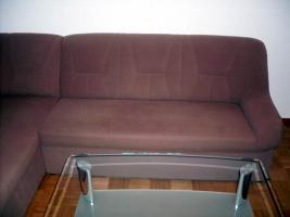 Foto 3 Eckpolstergarnietur mit Sofa und Hocker