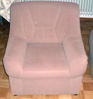 Foto 4 Eckpolstergarnietur mit Sofa und Hocker