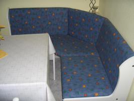 Foto 2 Ecksitzbank+Tisch+2 Stühle