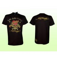 "Ed Hardy T-shirt, mit Strass, schwarz, ""love kills slowly"""