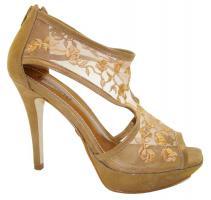 Foto 4 Edel Design High Heels aus echtem Rinds- und Wildleder, schwarz, bronze