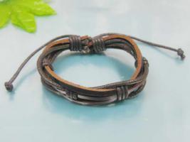 Foto 3 Edel, modern und sportlich Leder Armband