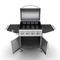 Foto 2 Edelstahl Gasgrill Grill Grillwagen Barbecue BBQ 4+1