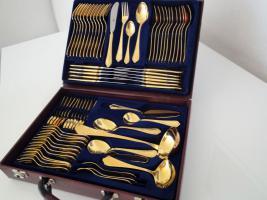 Edelstahlbesteck Solingen Hartvergoldet - 400 Euro