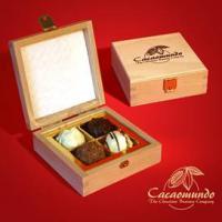 Foto 19 Edle Geschenkboxen aus masivem Holz, Schokoliköre...