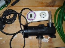 Foto 4 Eheim 2213 Classic Außenfilter für Aquarien bis 250 L, so gut wie Neu mit sehr viel Zubehör.
