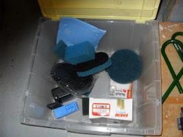 Foto 7 Eheim 2213 Classic Außenfilter für Aquarien bis 250 L, so gut wie Neu mit sehr viel Zubehör.