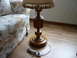 Foto 2 Eiche Stehlampe
