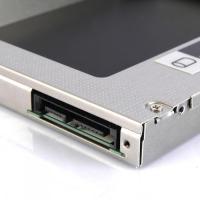 Foto 4 EiioX SATA 2.HDD Caddy Festplatte für 9,5mm universal CD/DVD-Rom Acer Benq Hp Dell Asus