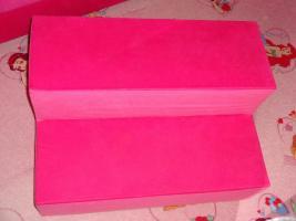 Foto 4 Ein wunderschönes Bett in Pink.