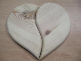 Ein-/ Zweiteiliges Herz
