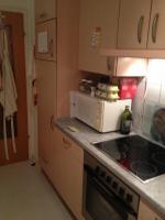 Küchenzeile von rechts