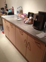 Küchenzeile ohne Geräte