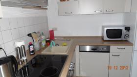 Foto 2 Einbauküche 2 MONATE ALT (kaschmir und nuss-nougat)
