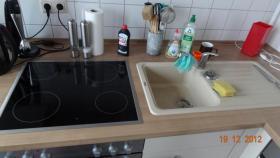 Foto 5 Einbauküche 2 MONATE ALT (kaschmir und nuss-nougat)