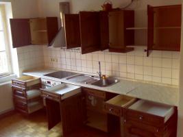Foto 2 Einbauküche für 250 Euro - AEG Ceran-Kochfeld/Backhofen 7 Jahre alt - Eiche Massiv Holz Front Schränke