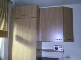 Foto 5 Einbauküche (Buche) L-Form