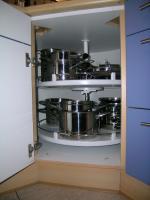 Foto 7 Einbauküche L-Form v. Brugman m. Elektrogeräten v. Bosch komplett TOP Zustand