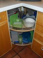 Foto 3 Einbauküche Zeyko, Fichte gebürstet