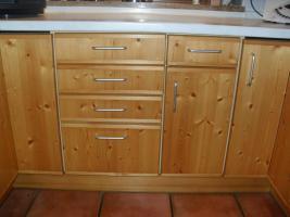 Foto 4 Einbauküche Zeyko, Fichte gebürstet