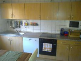 Einbauküche mit elektrischen Geräten