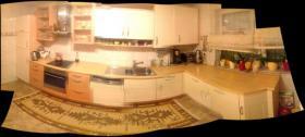 Einbauküche in gutem Zustand Hochglanz beieg