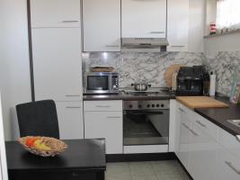 Einbauküche hochglanz weiß sehr gefplegt