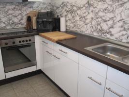 Foto 2 Einbauküche hochglanz weiß sehr gefplegt