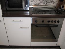 Foto 3 Einbauküche hochglanz weiß sehr gefplegt