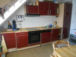 Einbauküche komplett (Spülmaschine, E-Herd, Kühlschrank, Spüle, Schränke, Dunstabzugshaube...)