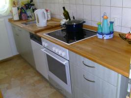 Einbauküche in mint