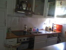 Einbauküche weiß/hochglanz