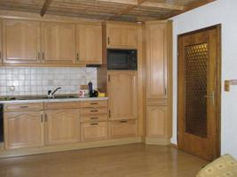 Einbauküche, Eiche massiv, ohne Elektrogeräte