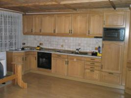 Foto 2 Einbauküche, Eiche massiv, ohne Elektrogeräte