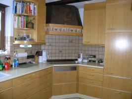 Einbauküche,  Esche natur
