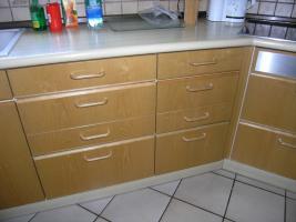Foto 3 Einbauküche,  Esche natur