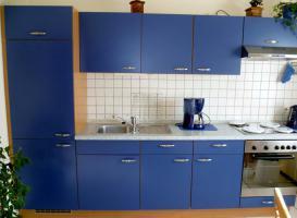 Einbauküche / Küchenzeile inkl. E-Geräte/ inkl. Tisch + 6 Stühle Preis: 520 EUR