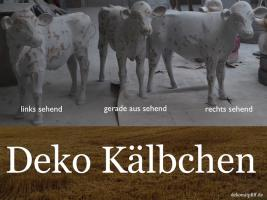 Foto 4 Eine Deko Kuh zum aufsitzen bis 100kg tragkraft und ein Deko Kalb zum aufsitzen bis 100kg Tragkraft ...