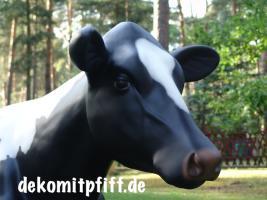Foto 6 Eine Deko Kuh zum aufsitzen bis 100kg tragkraft und ein Deko Kalb zum aufsitzen bis 100kg Tragkraft ...