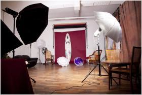 Einen Fotografen, Fotografin, Grafika